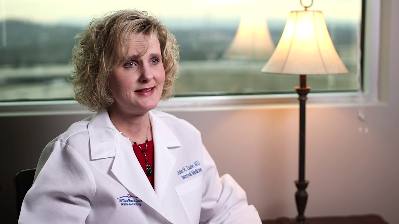 Dr. Dunn talks about her practice