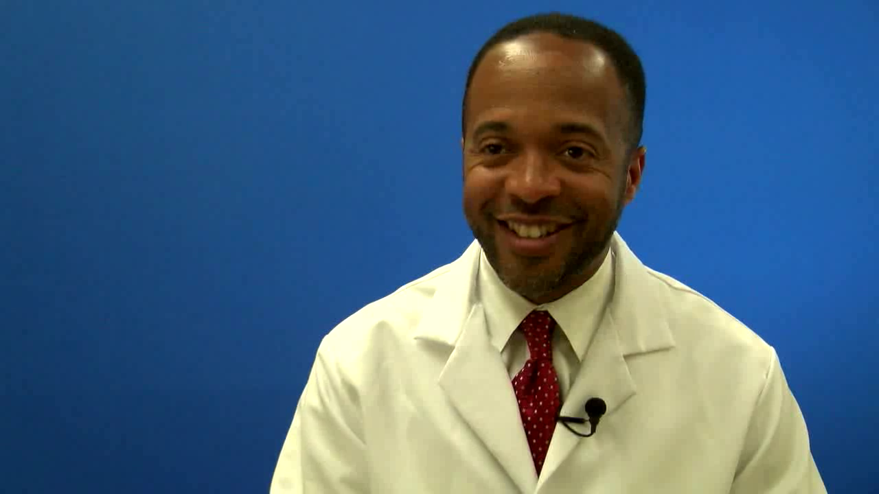 Dr. Pierre talks about his practice