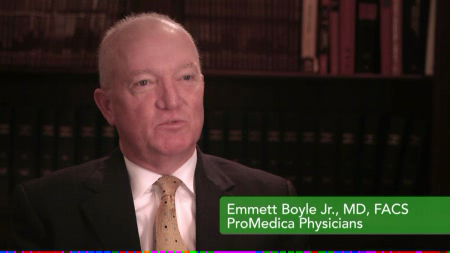 Dr. Boyle Jr. talks about his practice