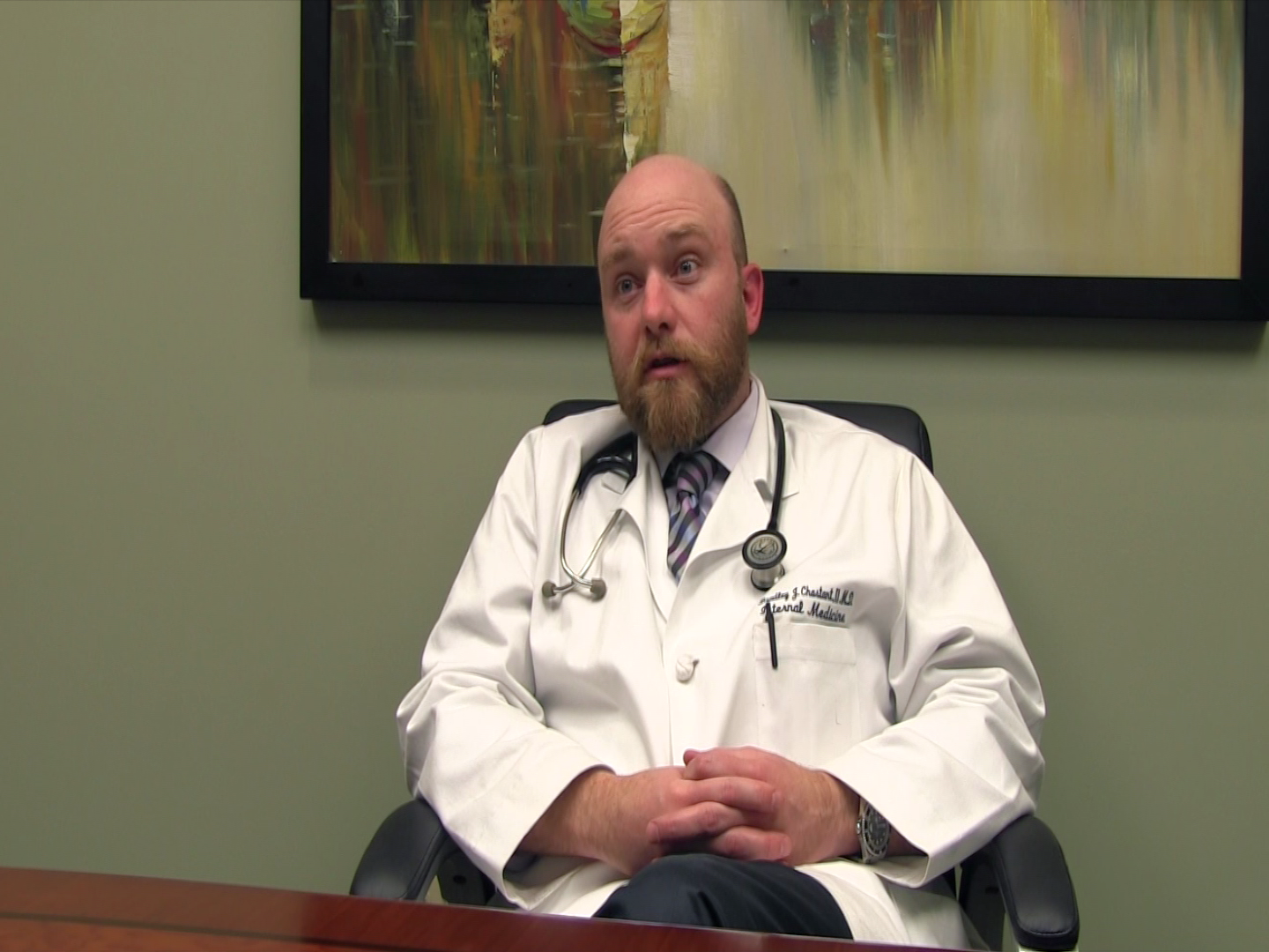 Dr. Chastant II talks about his practice