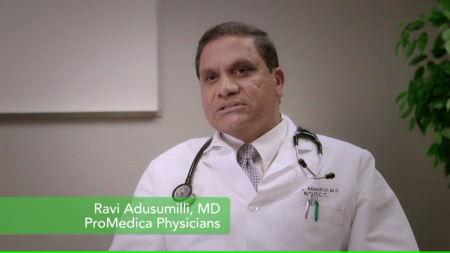 Dr. Adusumilli talks about his practice