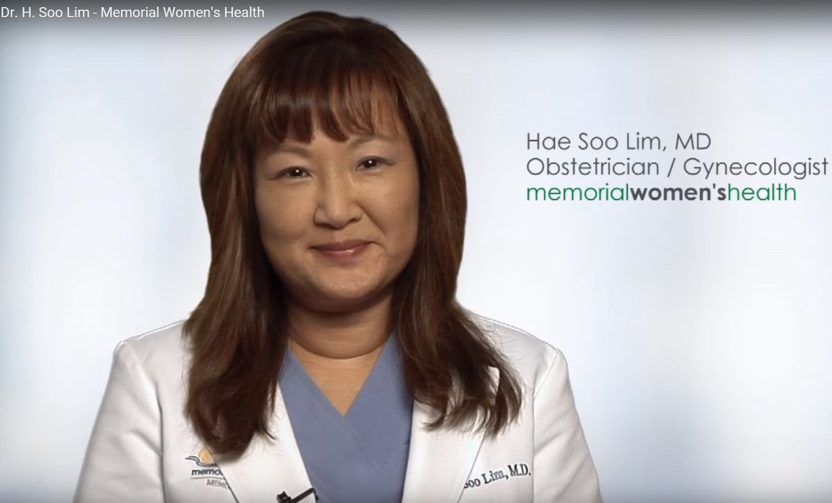 Dr. Lim talks about her practice