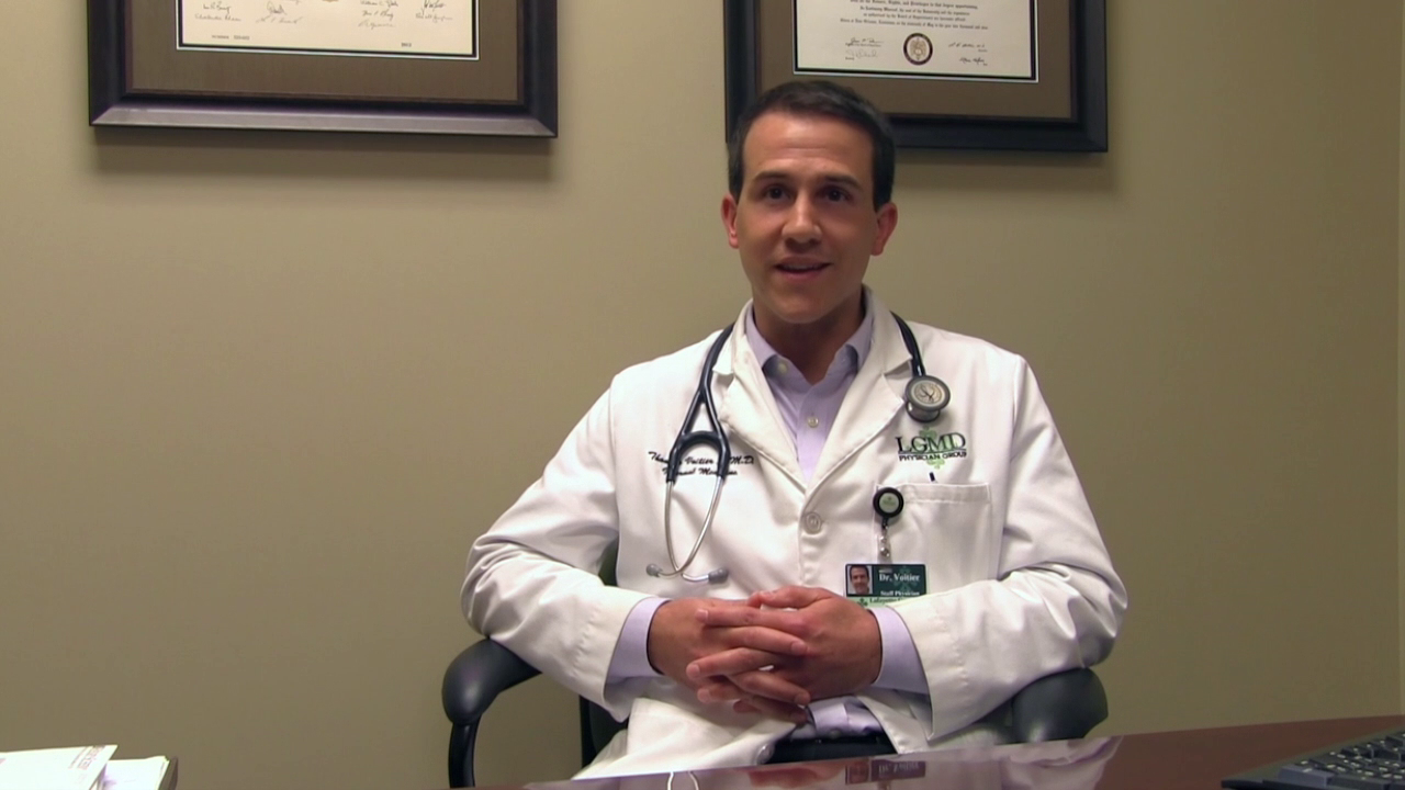 Dr. Voitier II talks about his practice