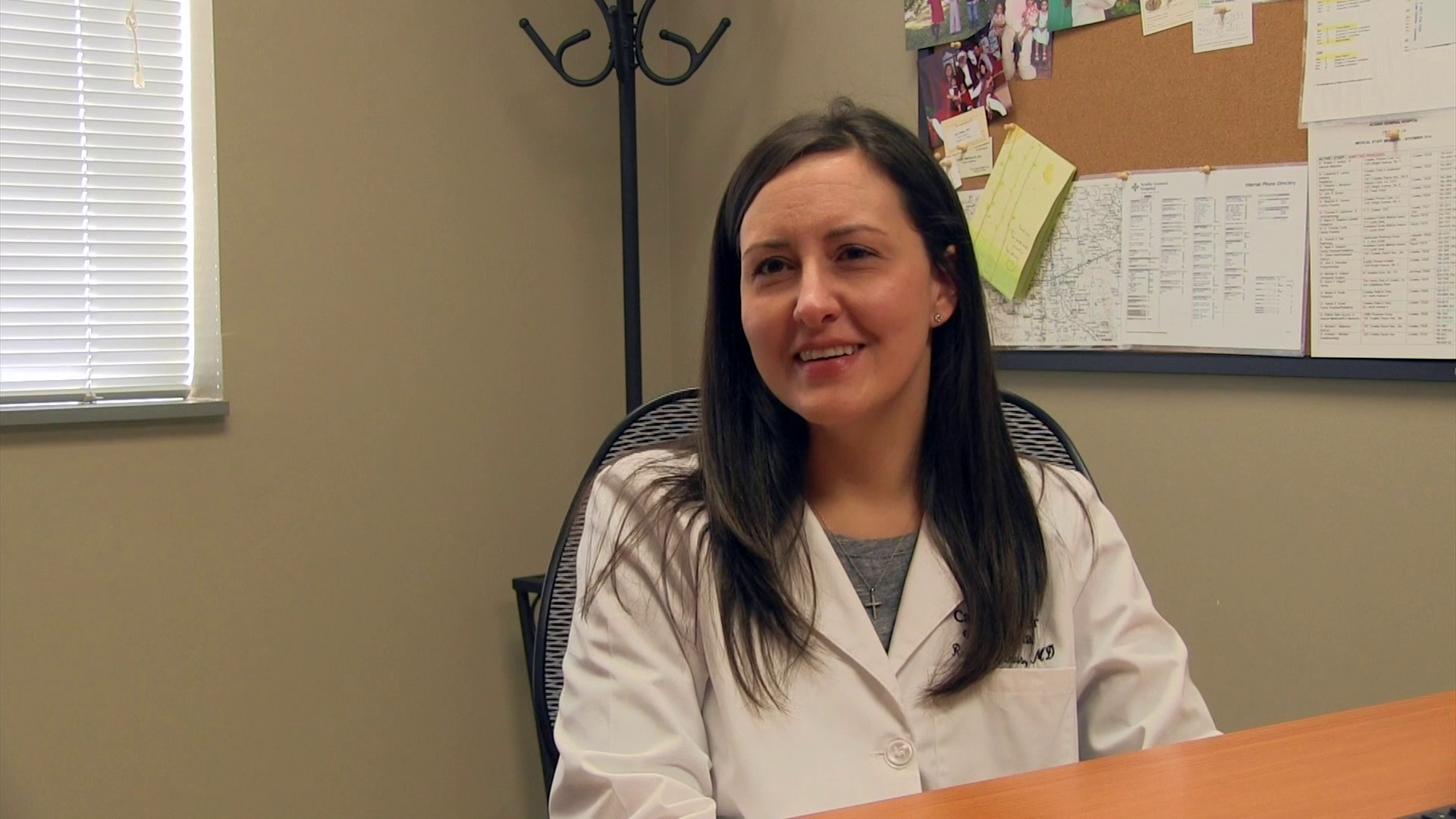 Dr. Roques-Davis talks about her practice