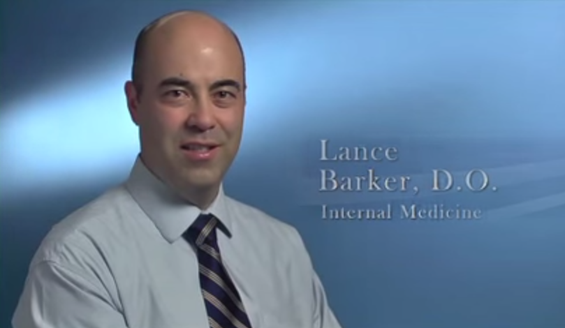 Dr. Barker talks about his practice