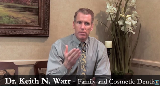 Dr. Warr talks about his practice