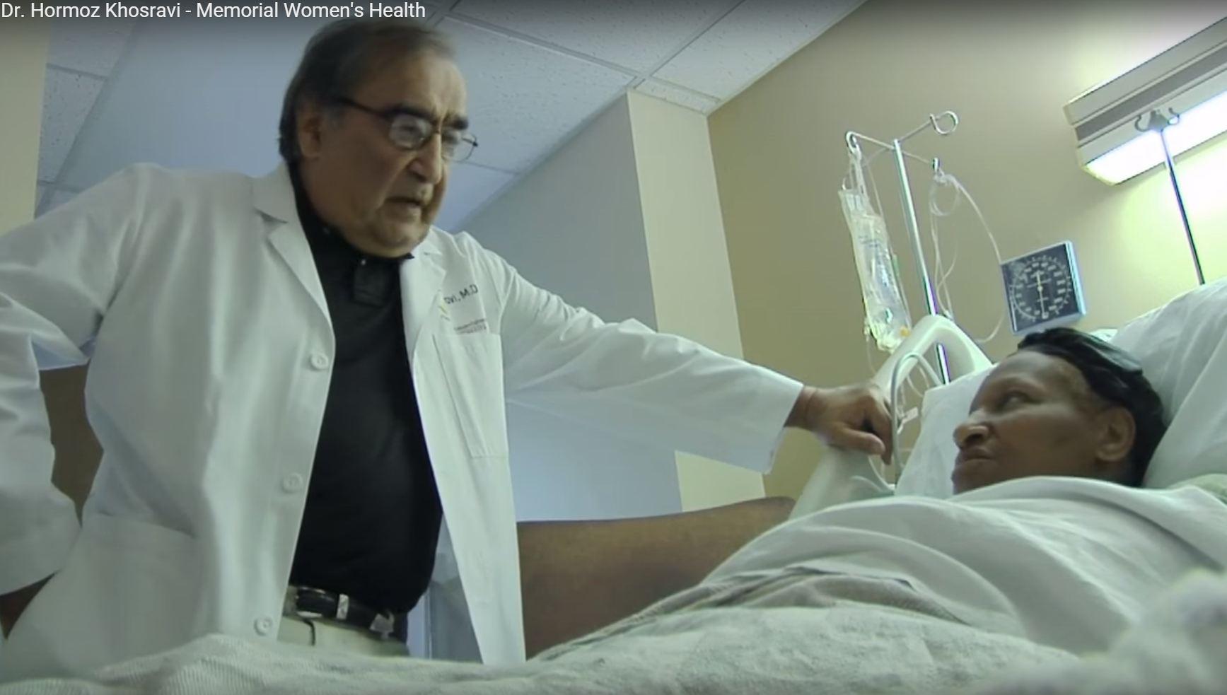 Dr. Khosravi talks about his practice
