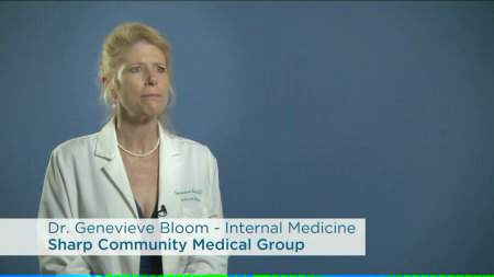 Dr. Bloom talks about her practice