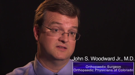 Dr. Woodward Jr. talks about his practice
