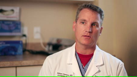 Dr. Stanton talks about his practice