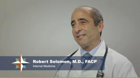 Dr. Solomon talks about his practice