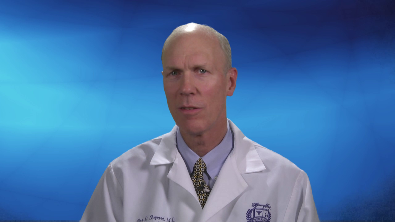 Dr. Shepard talks about his practice
