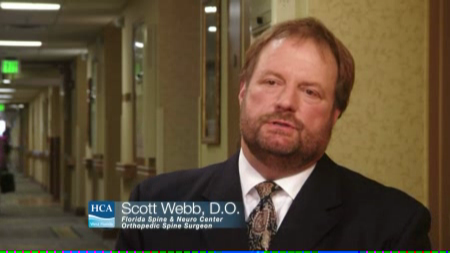 Dr. Webb talks about his practice