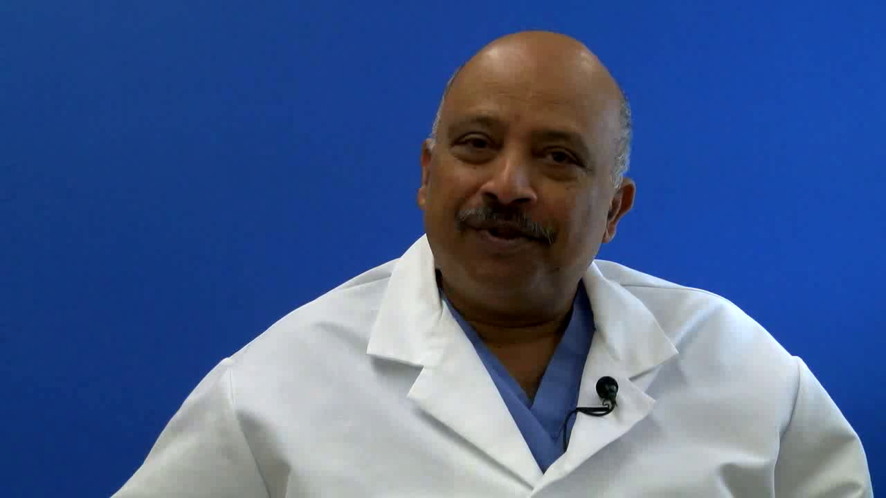 Dr. Amarchand talks about his practice