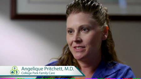 Dr. Pritchett talks about her practice