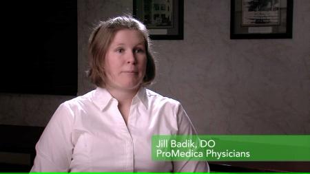 Dr. Badik talks about her practice