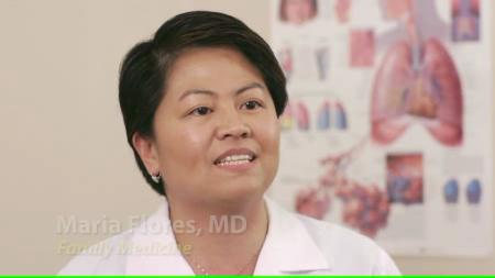 Dr. Flores talks about her practice