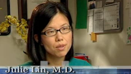 Dr. Lin talks about her practice
