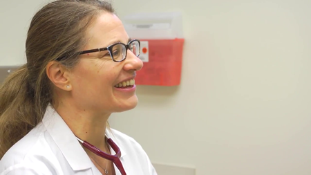 Dr. Olson talks about her practice