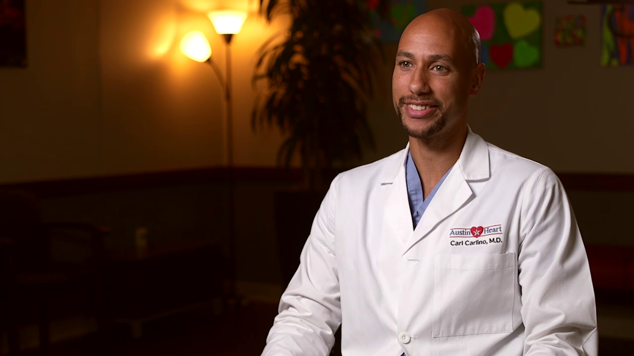 Dr. Carlino talks about his practice
