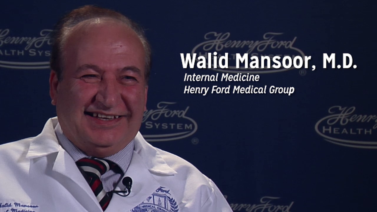 Dr. Mansoor talks about his practice