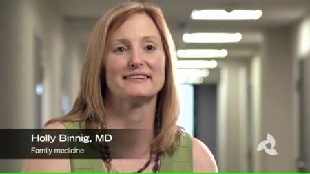 Dr. Binnig talks about her practice