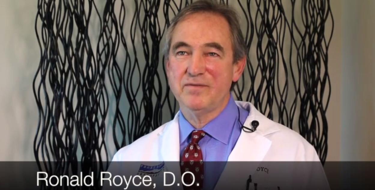 Dr. Royce talks about his practice