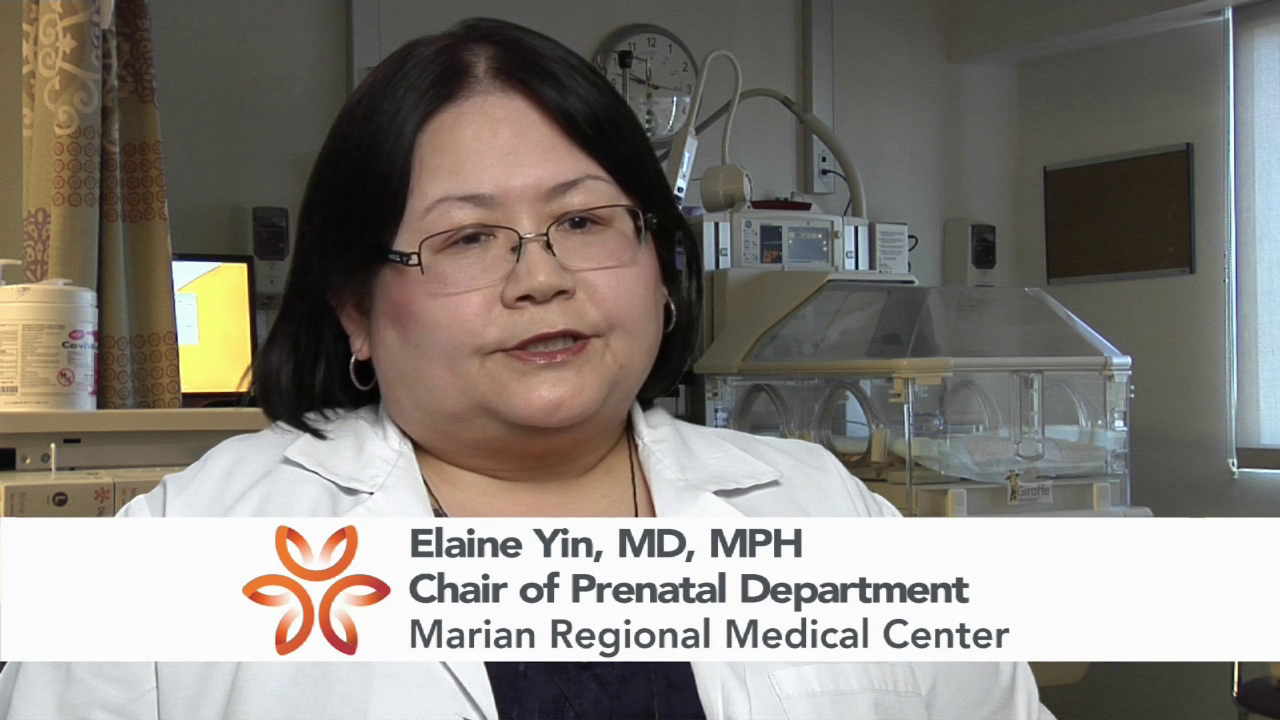 Dr. Yin talks about her practice