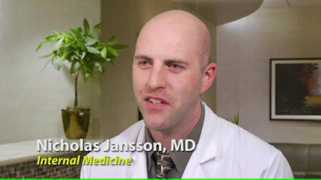 Dr. Jansson talks about his practice
