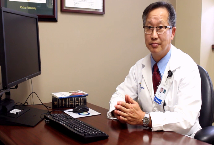 Dr. Kim talks about his practice