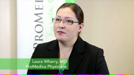 Dr. Wharry talks about her practice