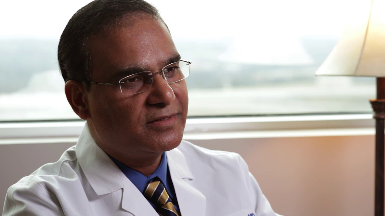 Dr. Kaza talks about his practice