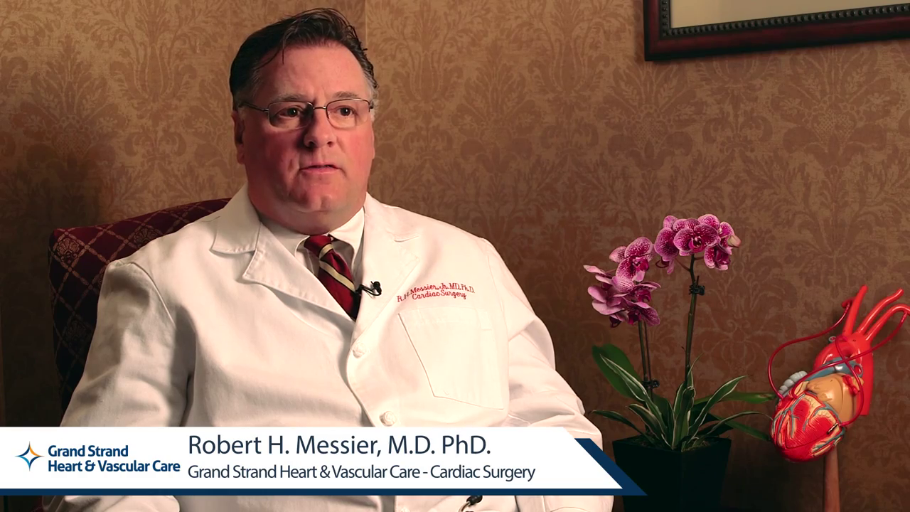 Dr. Messier Jr. talks about his practice