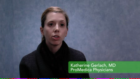 Dr. Gerlach talks about her practice