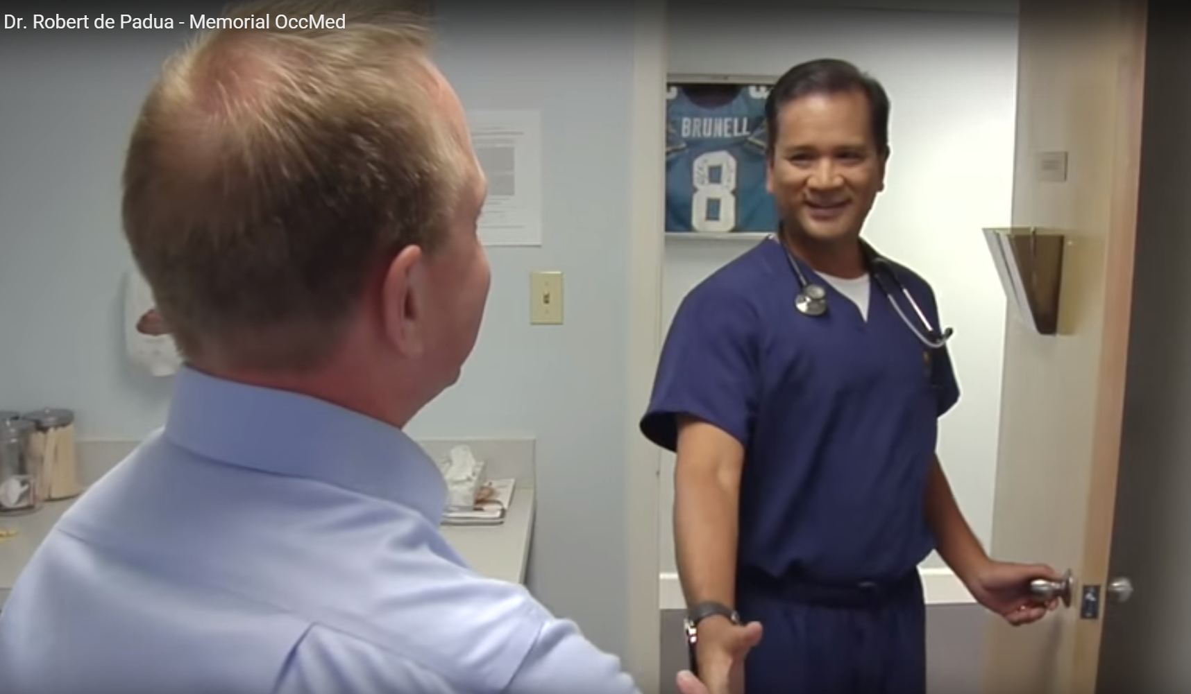 Dr. De Padua talks about his practice