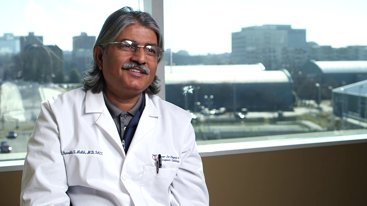 Dr. Malik talks about his practice