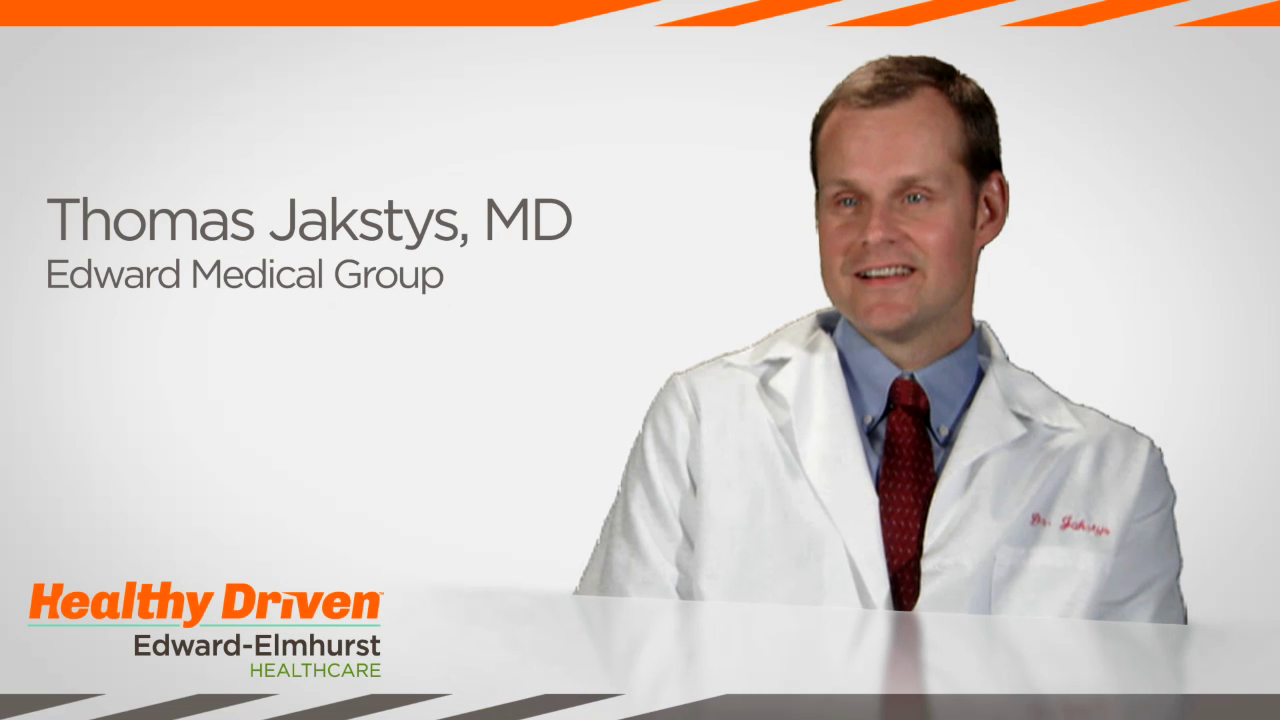 Dr. Jakstys talks about his practice