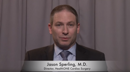 Dr. Sperling talks about his practice