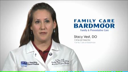 Dr. Vest talks about her practice