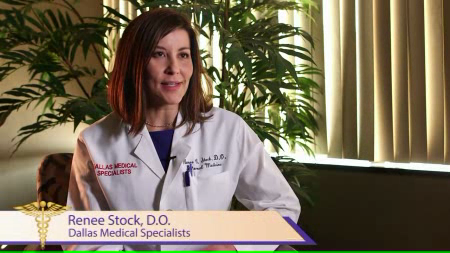 Dr. Stock talks about her practice