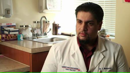 Dr. Mahmood talks about his practice