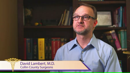 Dr. Lambert talks about his practice
