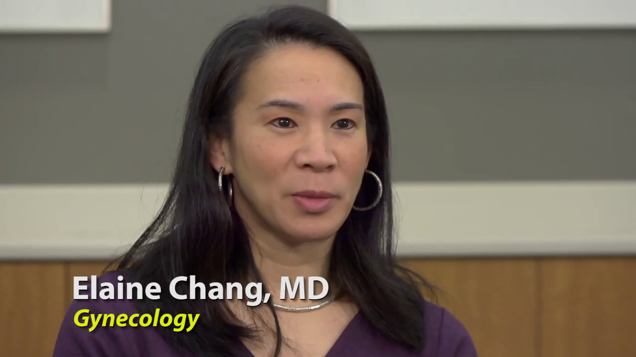 Dr. Chang talks about her practice