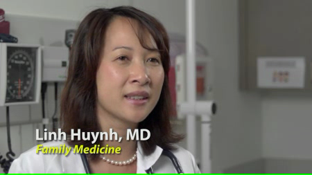 Dr. Huynh talks about her practice