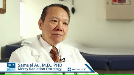 Dr. Au talks about his practice