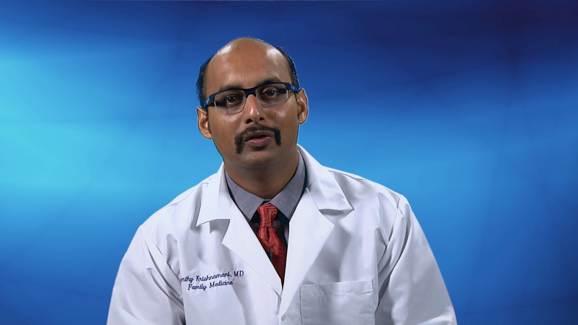 Dr. Krishnamani talks about his practice