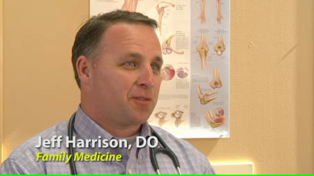 Dr. Harrison talks about his practice