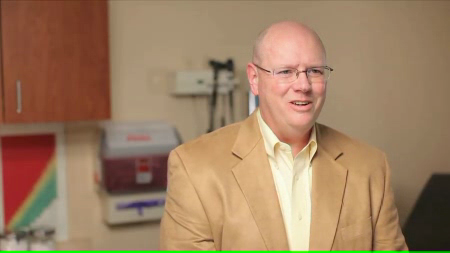 Dr. Lowndes talks about his practice