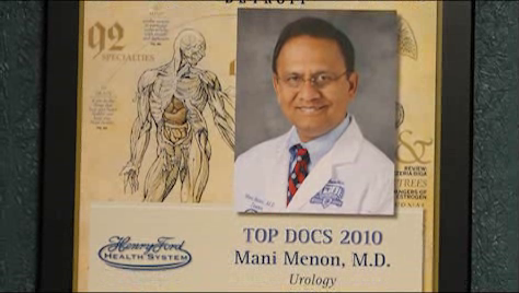 Dr. Menon talks about his practice