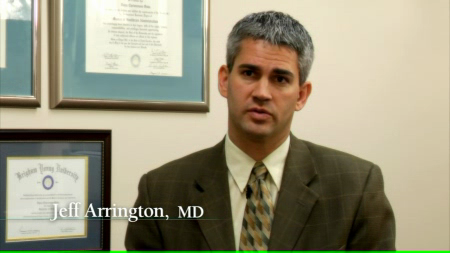 Dr. Arrington V talks about his practice